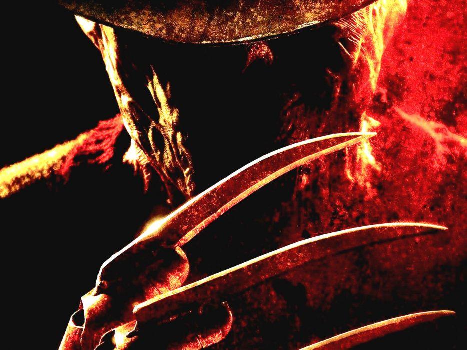 A NIGHTMARE ON ELM STREET dark horror thriller  f wallpaper