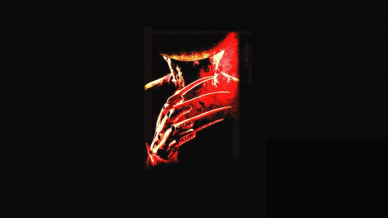 A Nightmare On Elm Street Dark Horror Thriller Poster G Wallpaper