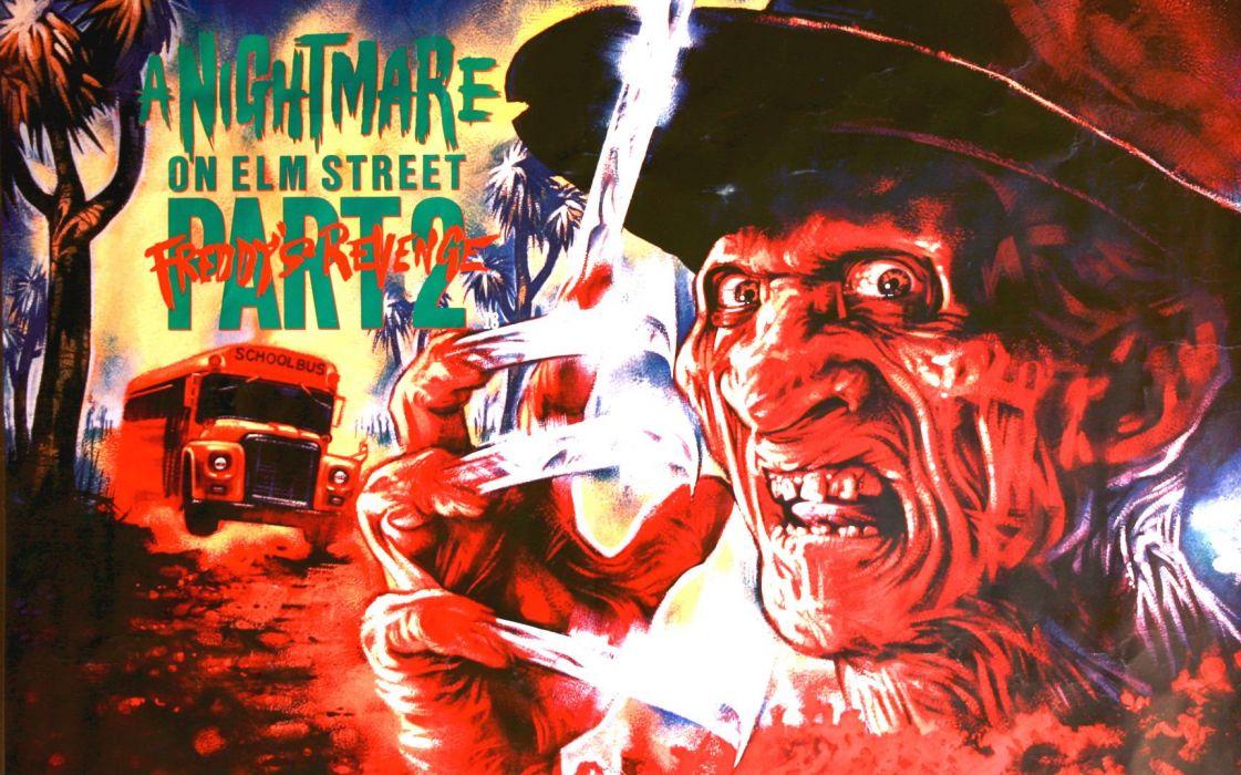 A NIGHTMARE ON ELM STREET dark horror thriller poster   gj wallpaper