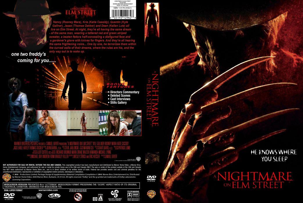 A NIGHTMARE ON ELM STREET dark horror thriller poster   hg wallpaper