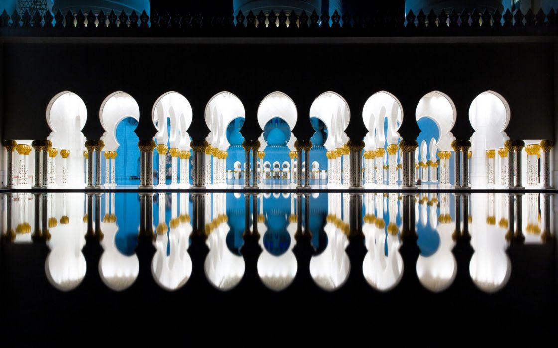 nature reflection mosque ultrahd 4k wallpaper wallpaper
