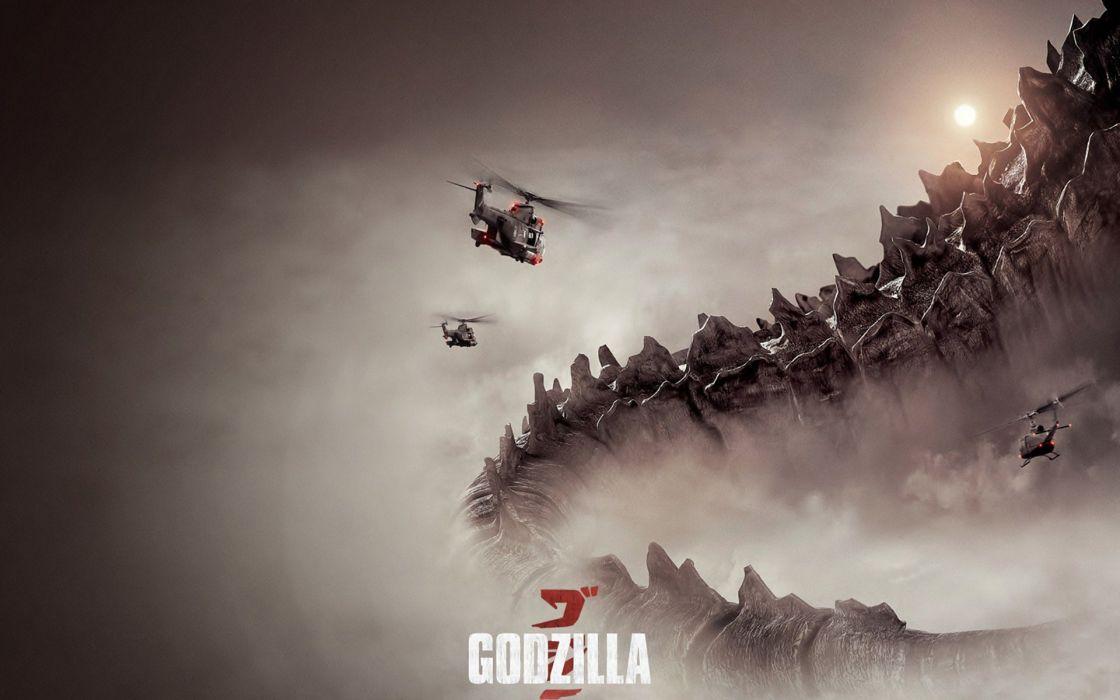 godzila movie poster 2014 hd wallpaper