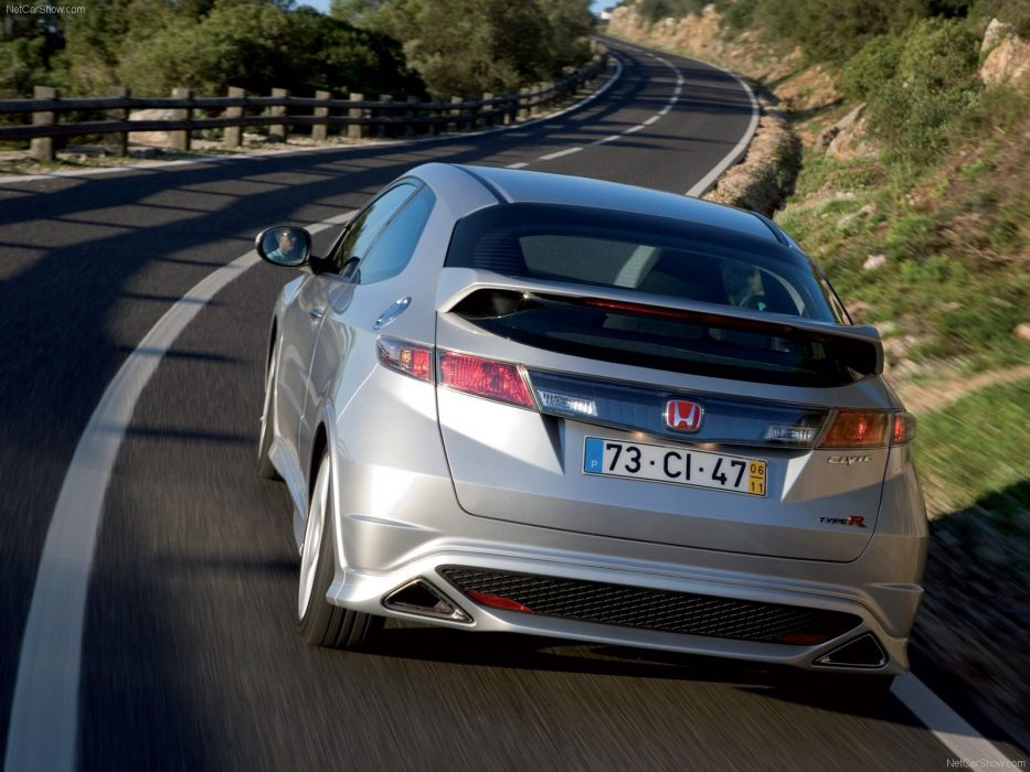cars silver Honda Civic wallpaper