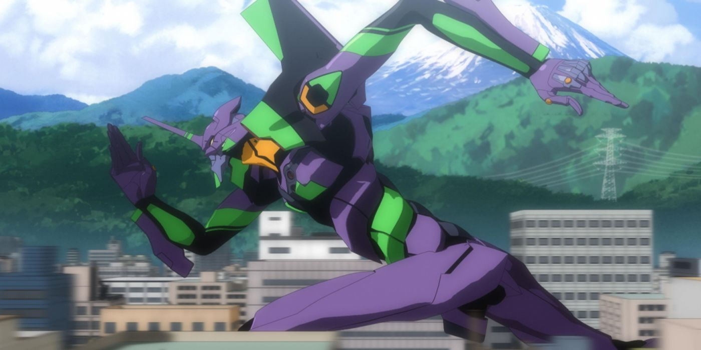 Neon Genesis Evangelion screenshots running anime wallpaper