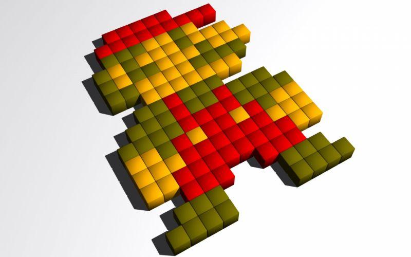 Mario blocks wallpaper