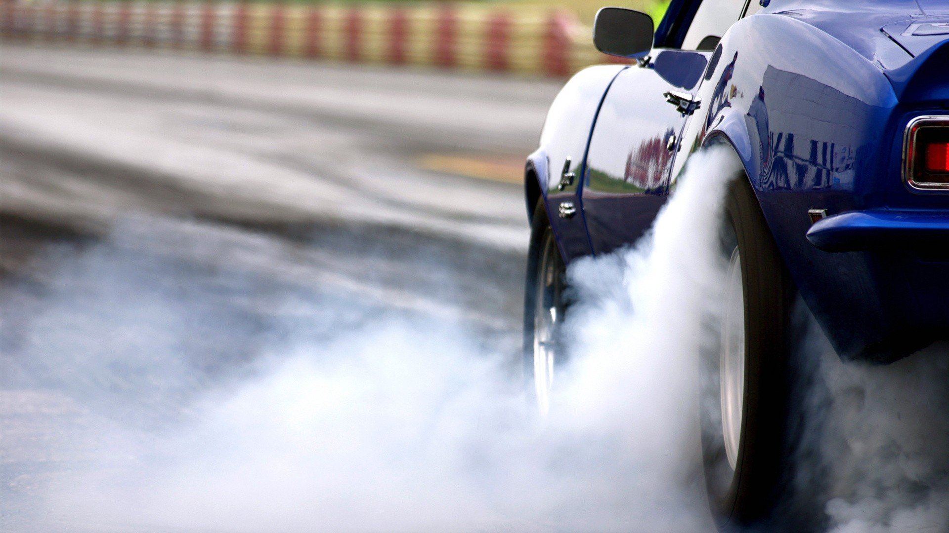 Cars Smoke Vehicles Burnout Wallpaper