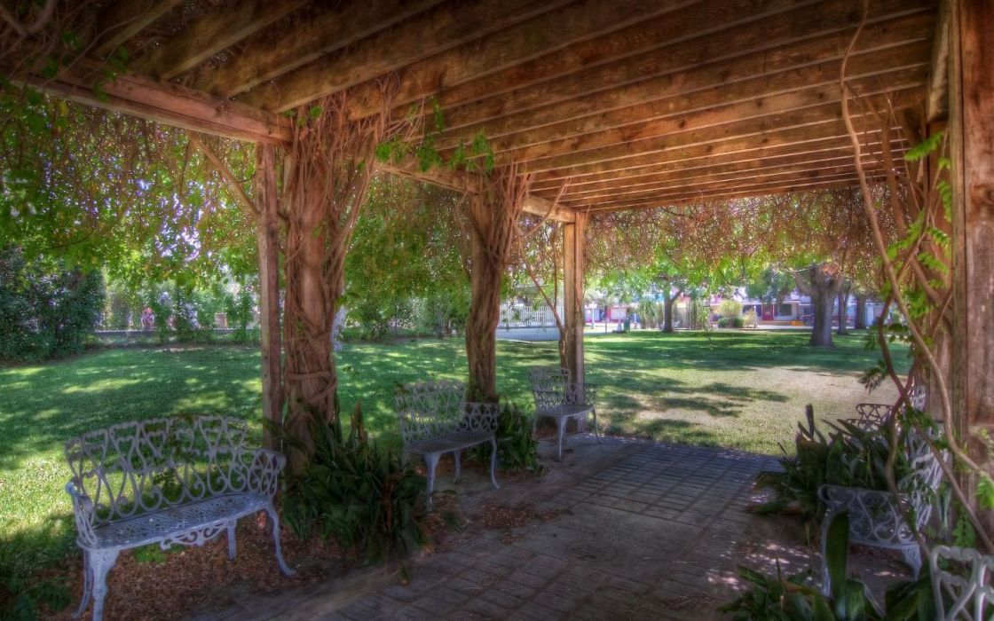 HDR photography parks wallpaper