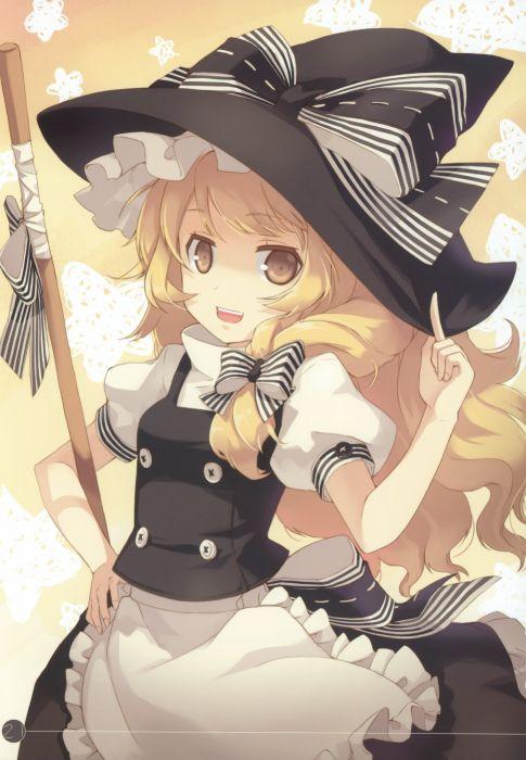 blondes Touhou Kirisame Marisa wallpaper