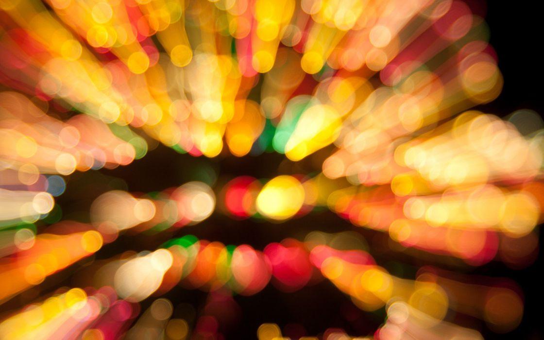 abstract lights Christmas bokeh wallpaper
