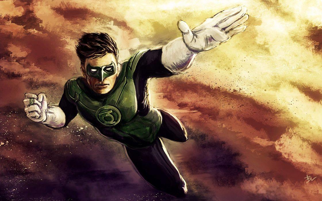 Green Lantern DC Comics comics superheroes New 52 wallpaper