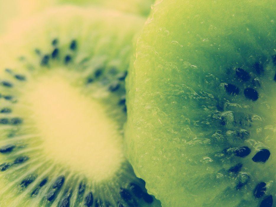 green fruits kiwi wallpaper