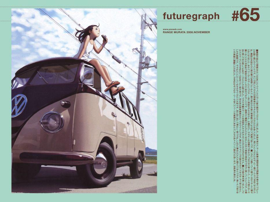 Range Murata Futuregraph wallpaper