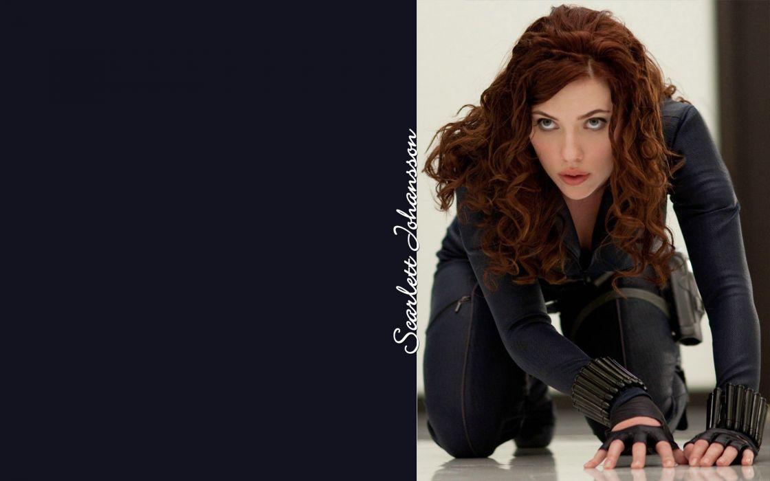 women Scarlett Johansson actress Black Widow wallpaper