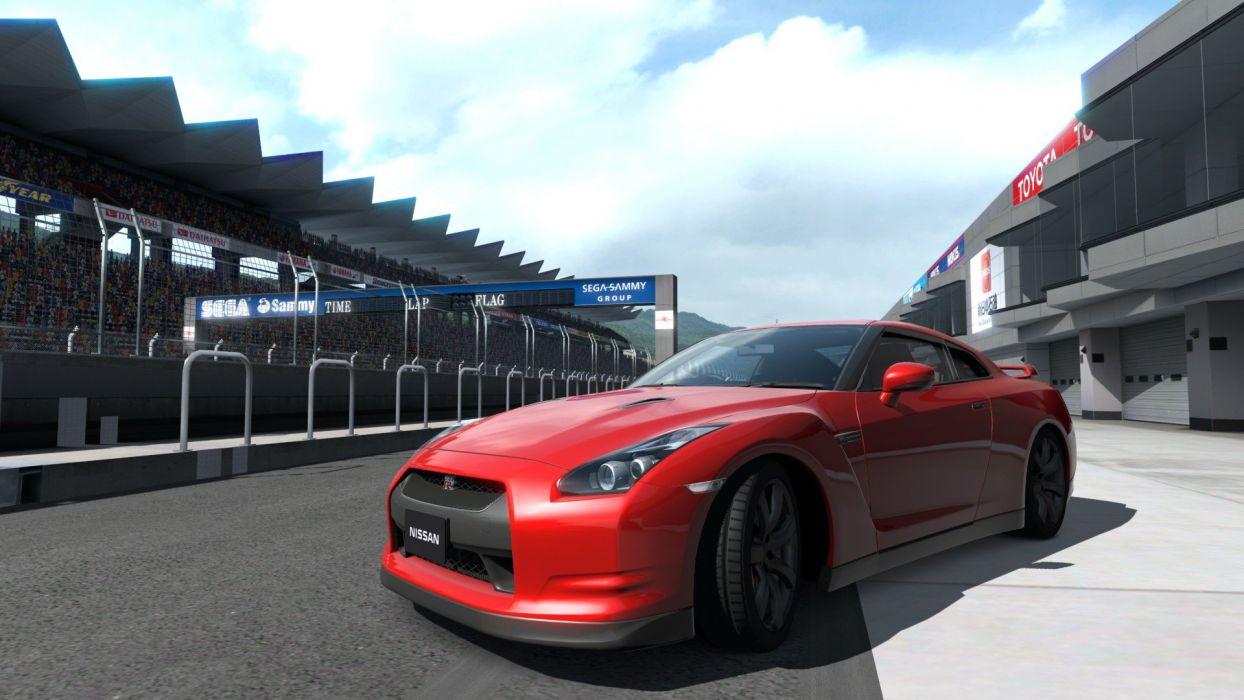 video games cars vehicles Gran Turismo 5 Playstation 3 JDM Japanese domestic market Nissan GT-R R35 wallpaper