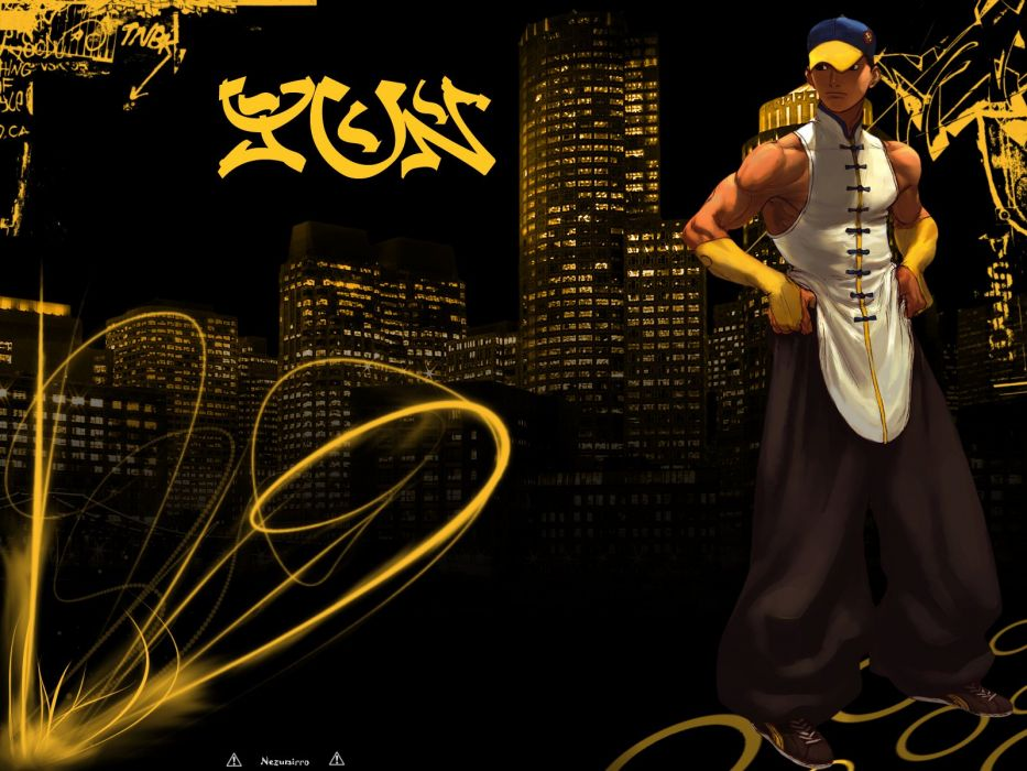 Street Fighter yun wallpaper