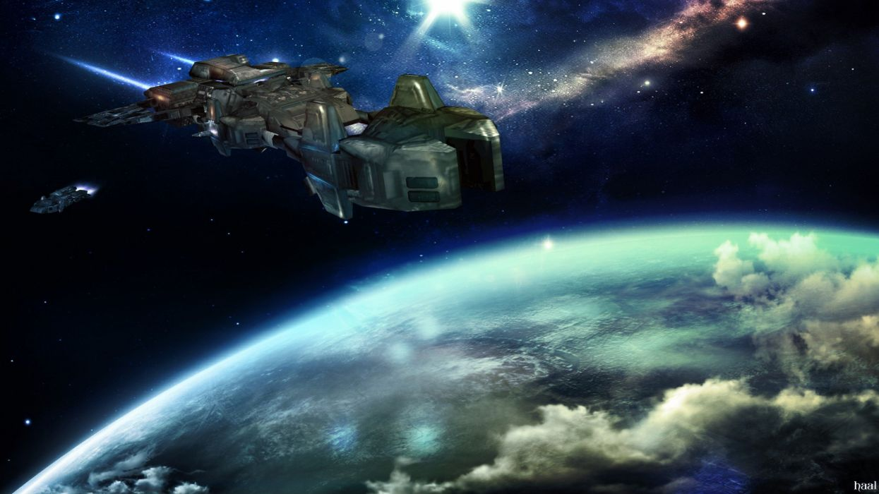 outer space photo manipulation wallpaper