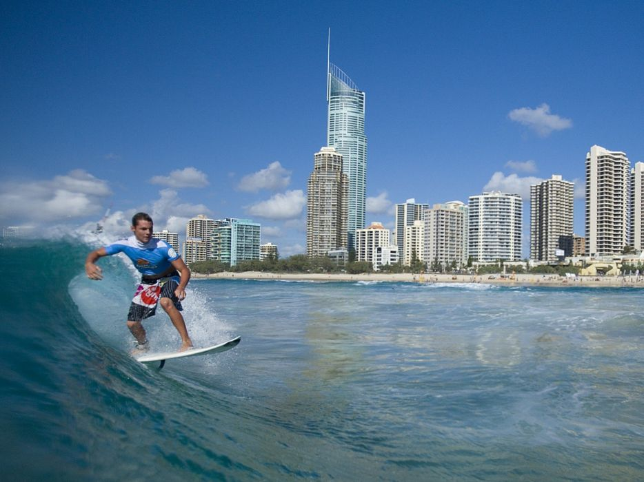 cityscapes surfers bodyboarding wallpaper