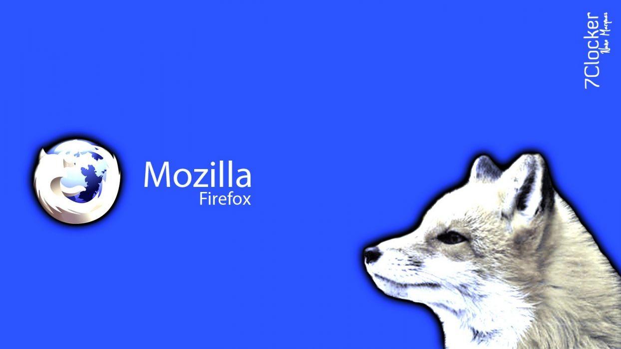 Mozilla logos wallpaper