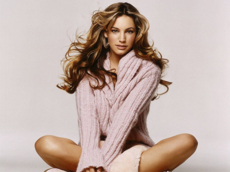women Kelly Brook sweaters wallpaper