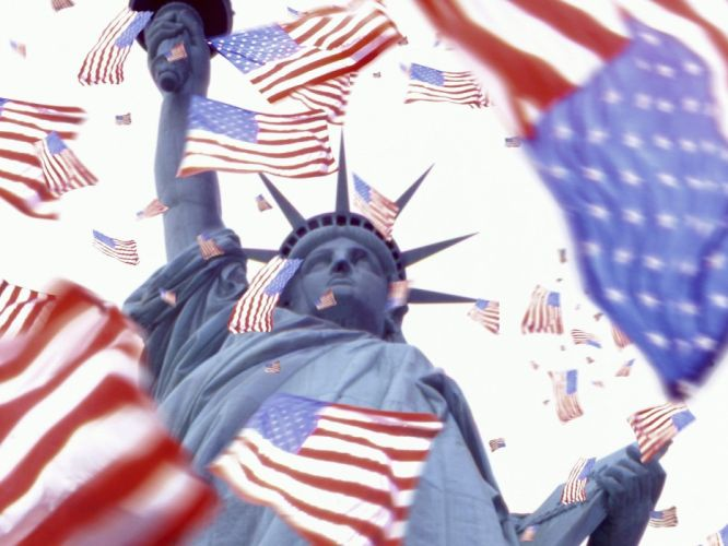 freedom flags USA wallpaper