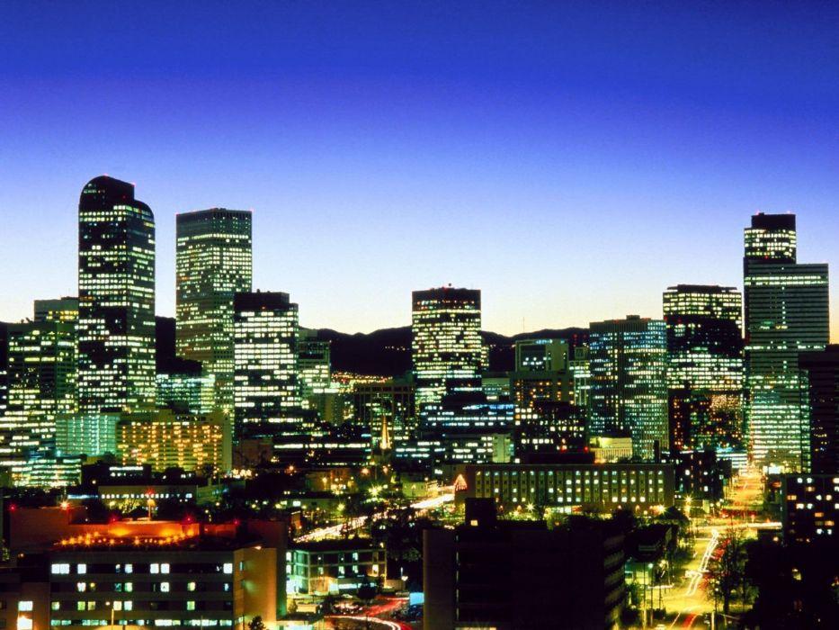 Colorado Denver cities wallpaper