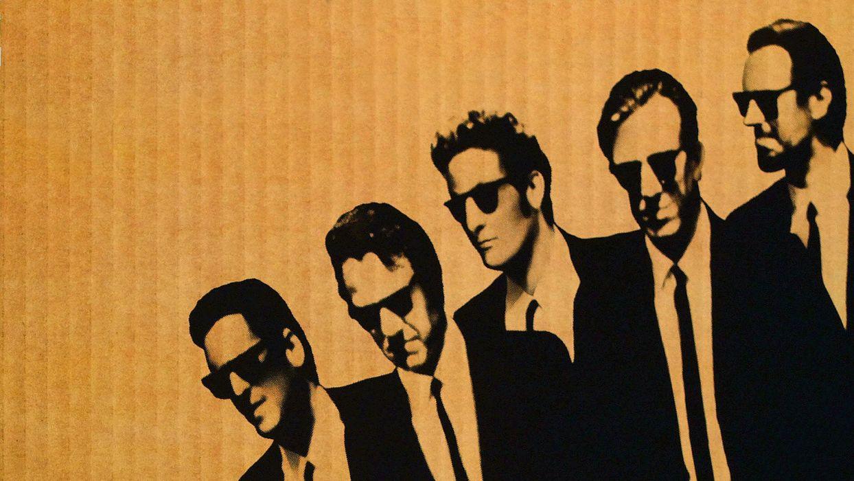 movies men Reservoir Dogs Quentin Tarantino wallpaper