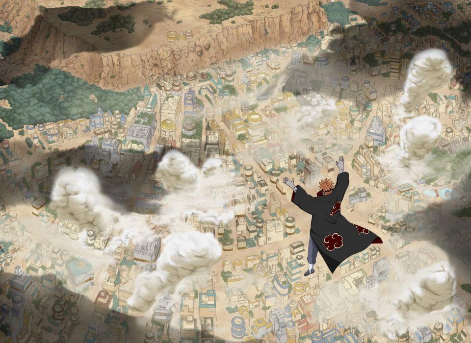 Naruto: Shippuden Akatsuki konoha Pein wallpaper