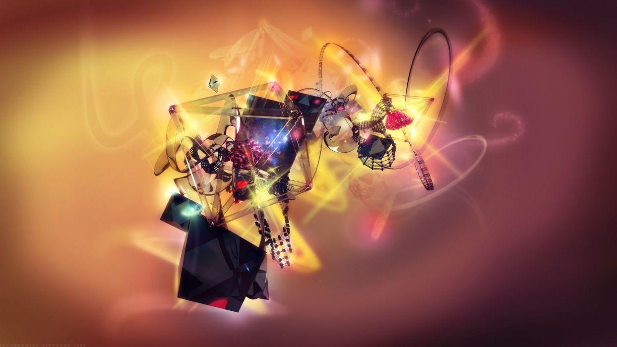 abstract CGI wallpaper