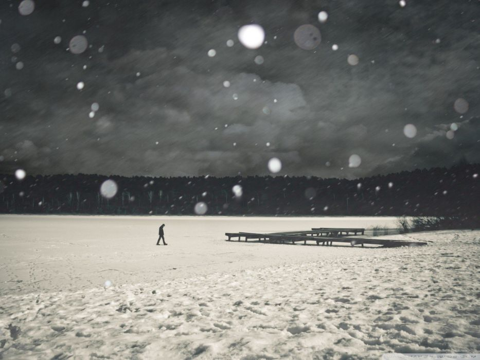 winter love lonely love quotes wallpaper