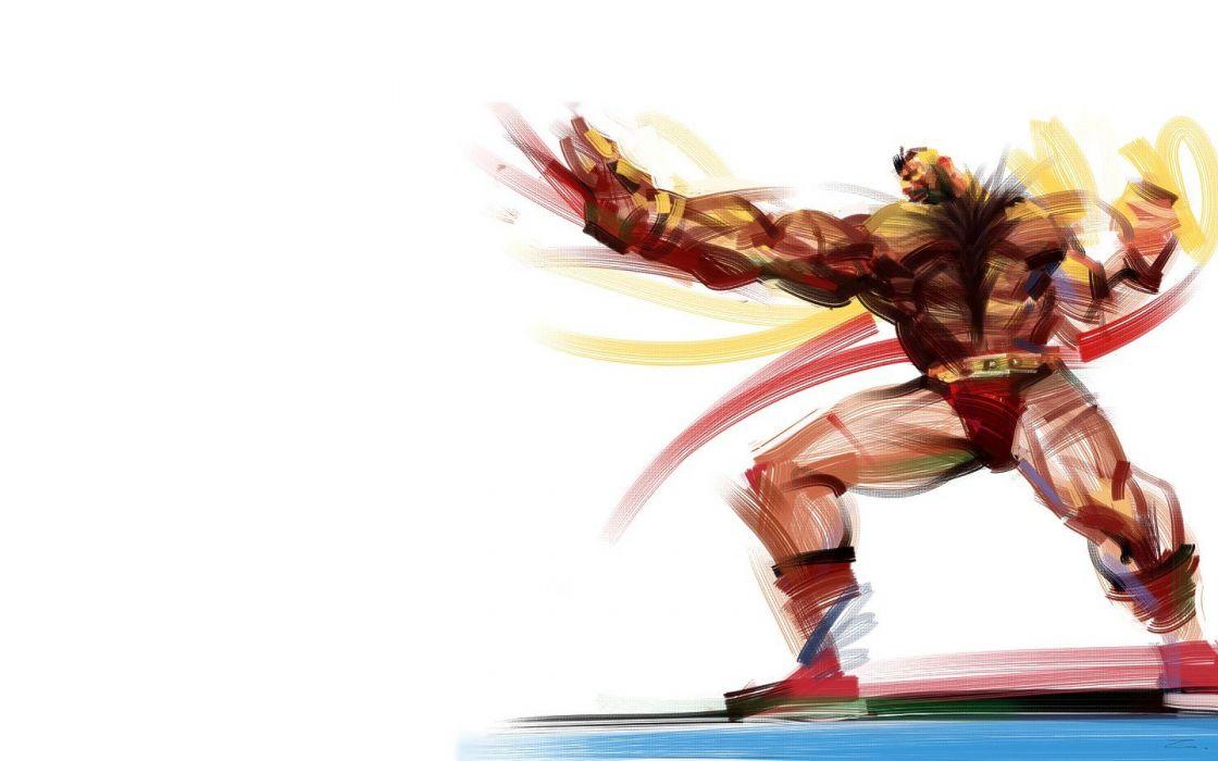 Street Fighter Artwork Zangief Wallpaper 1440x900 237641