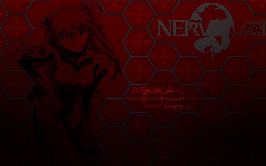 Neon Genesis Evangelion Nerv Asuka Langley Soryu Wallpaper 2560x1600 237652 Wallpaperup