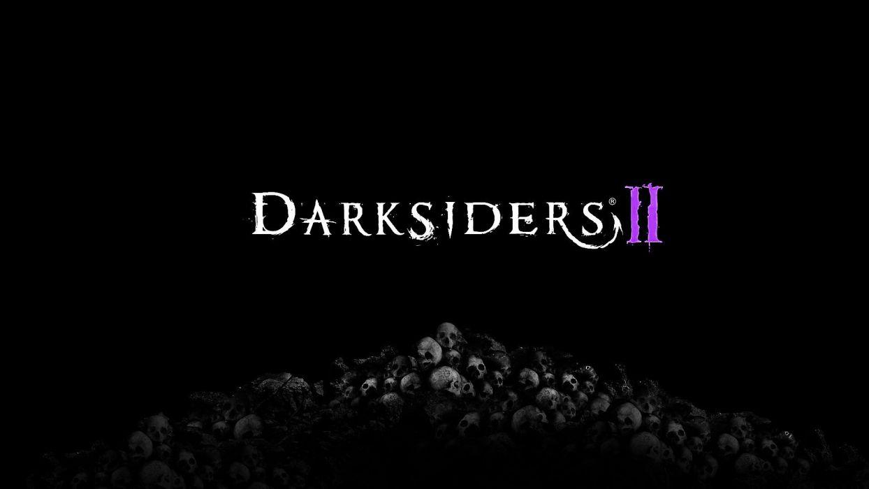 skulls video games Darksiders Darksiders 2 wallpaper