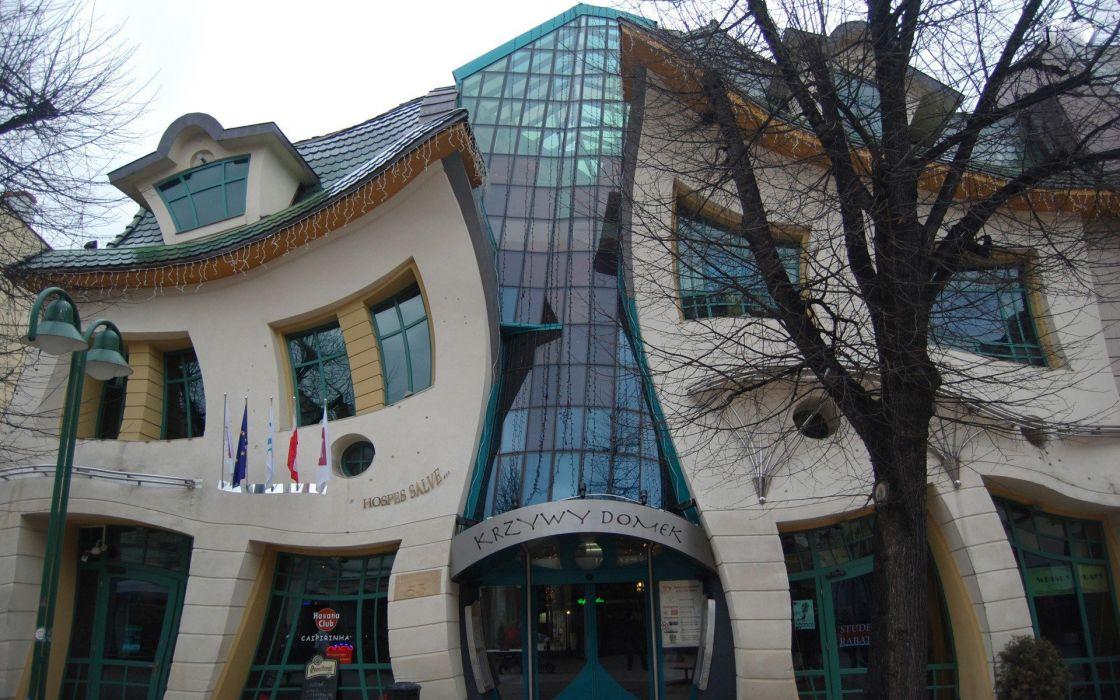architecture buildings Poland wallpaper