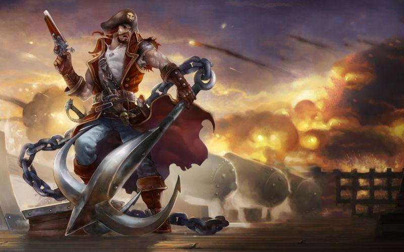 pirates League of Legends Gangplank wallpaper