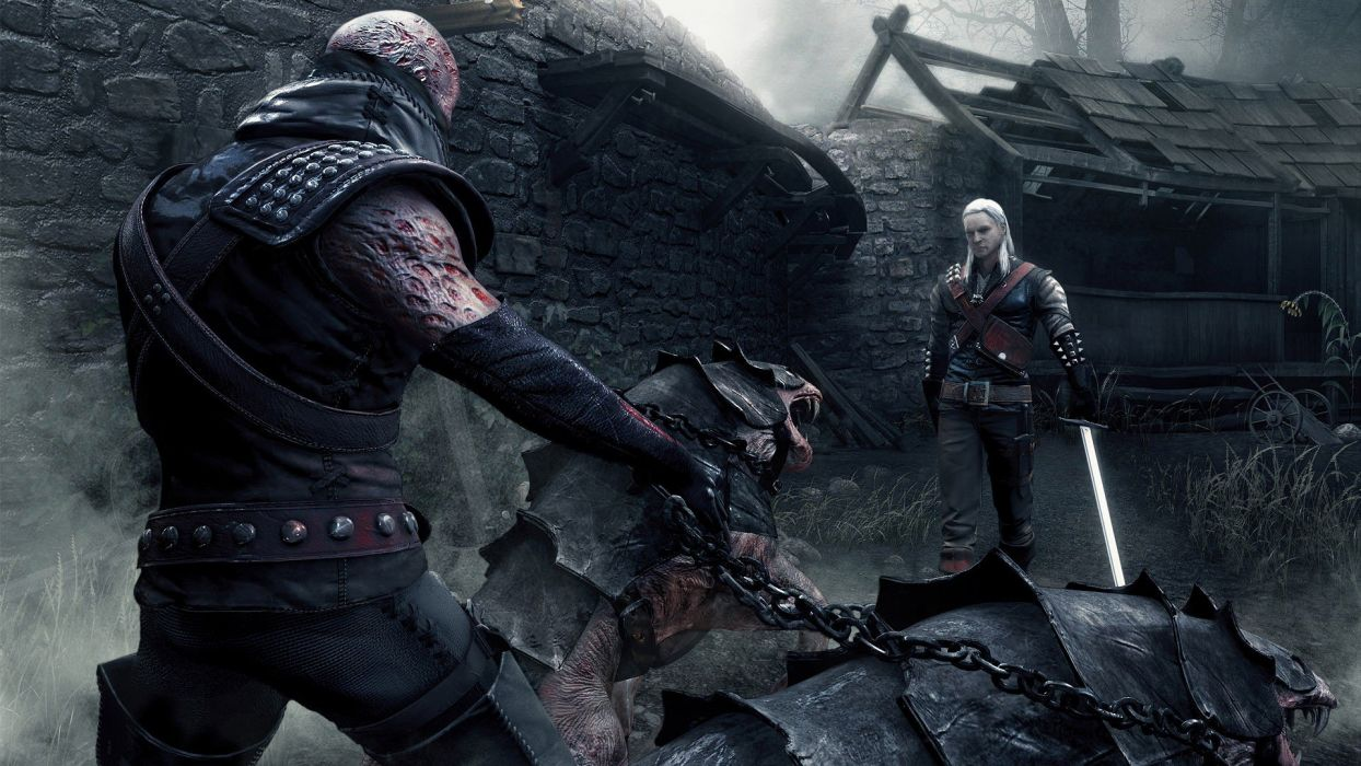 video games The Witcher wallpaper