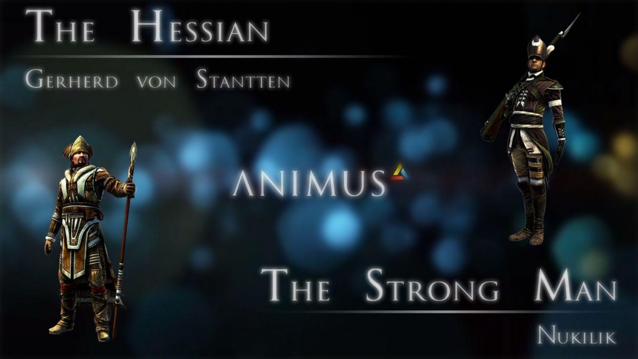 Assassins Creed Assassins Creed 3 entertainment strong wallpaper