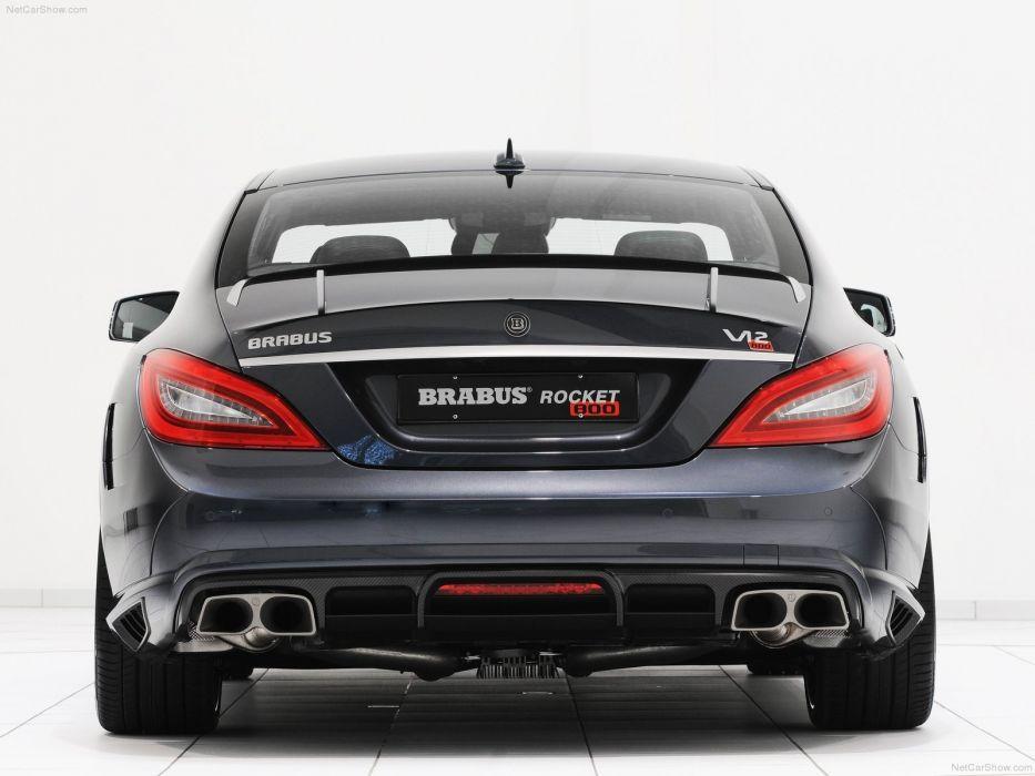 cars Brabus Rocket Mercedes-Benz wallpaper