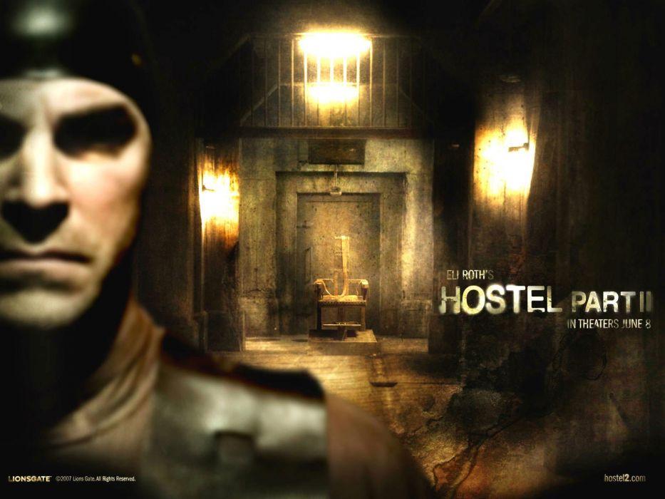 HOSTEL horror dark scary creepy poster wallpaper