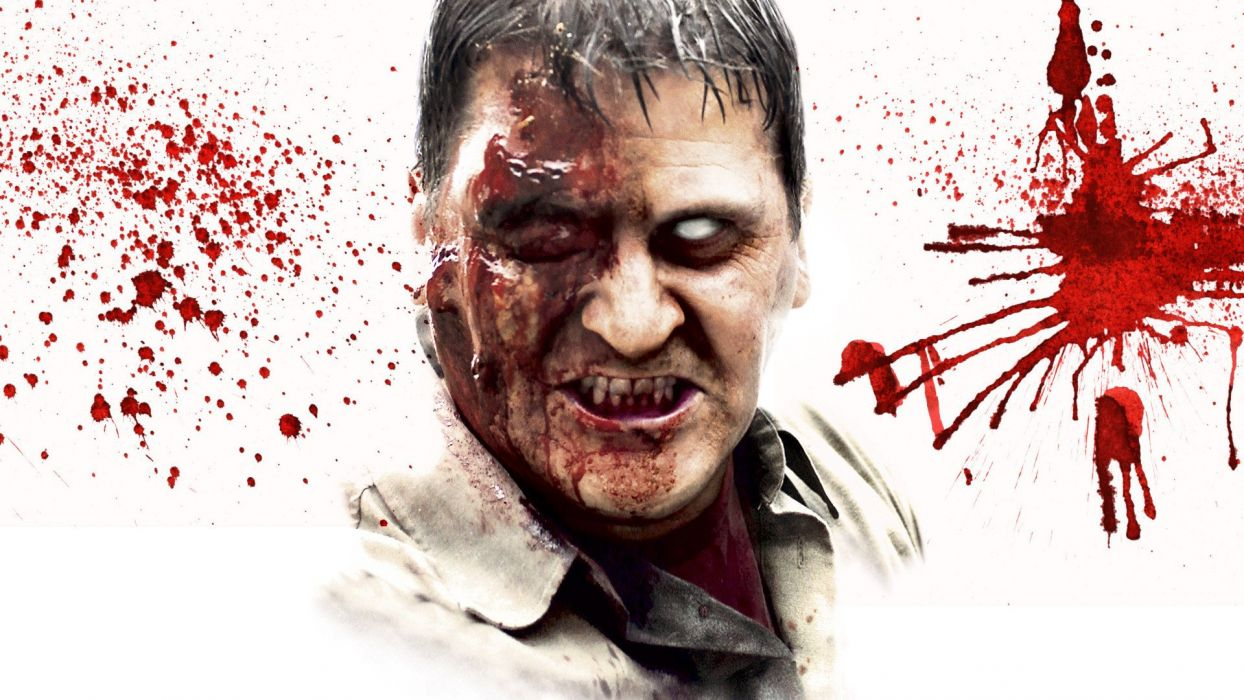 DAWN OF THE DEAD dark horror zombie blood  g wallpaper