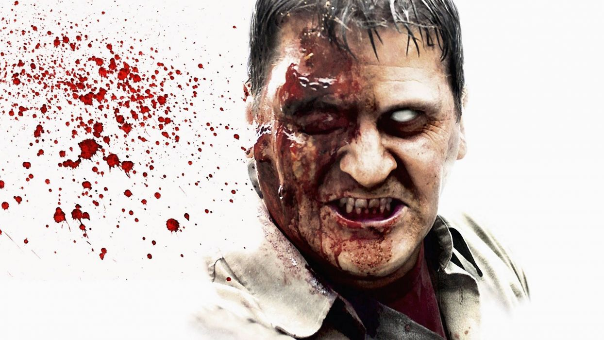 DAWN OF THE DEAD dark horror zombie blood  vx wallpaper