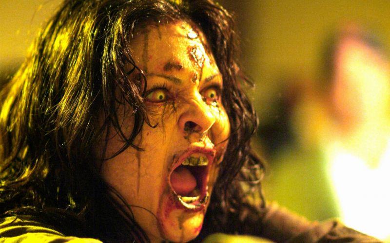 DAWN OF THE DEAD dark horror zombie blood sc wallpaper