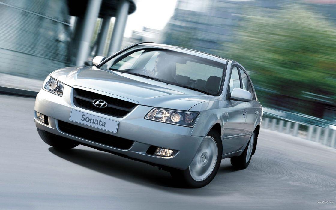 cars Hyundai Sonata wallpaper