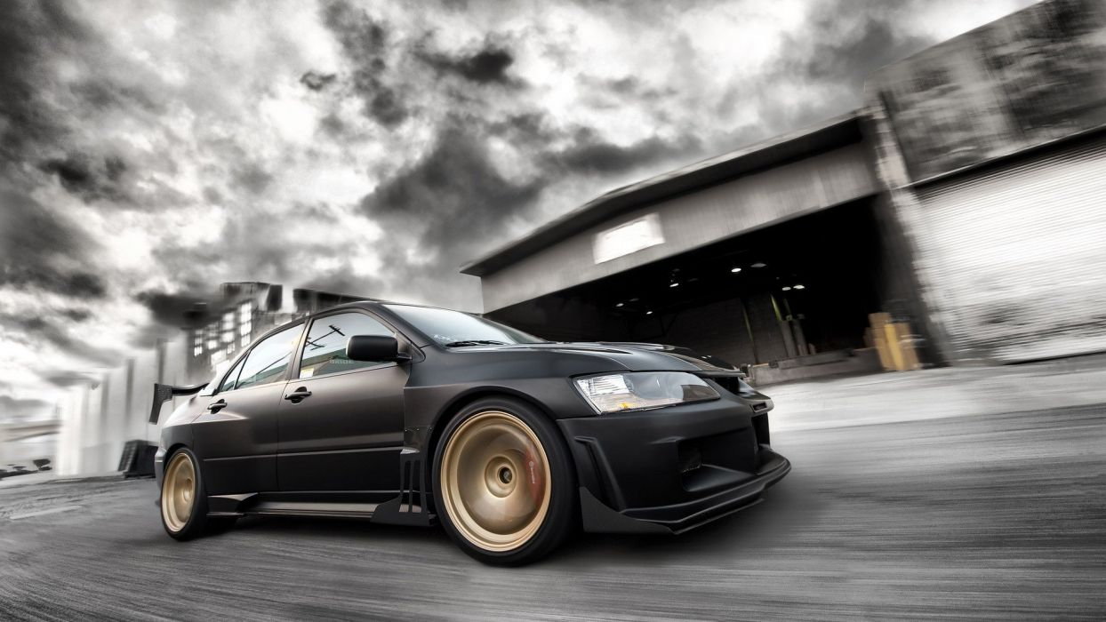 cars engines vehicles supercars tuning wheels Mitsubishi Lancer Evolution sports cars Mitsubishi Lancer luxury sport cars JDM Japanese domestic market speed automobiles wallpaper