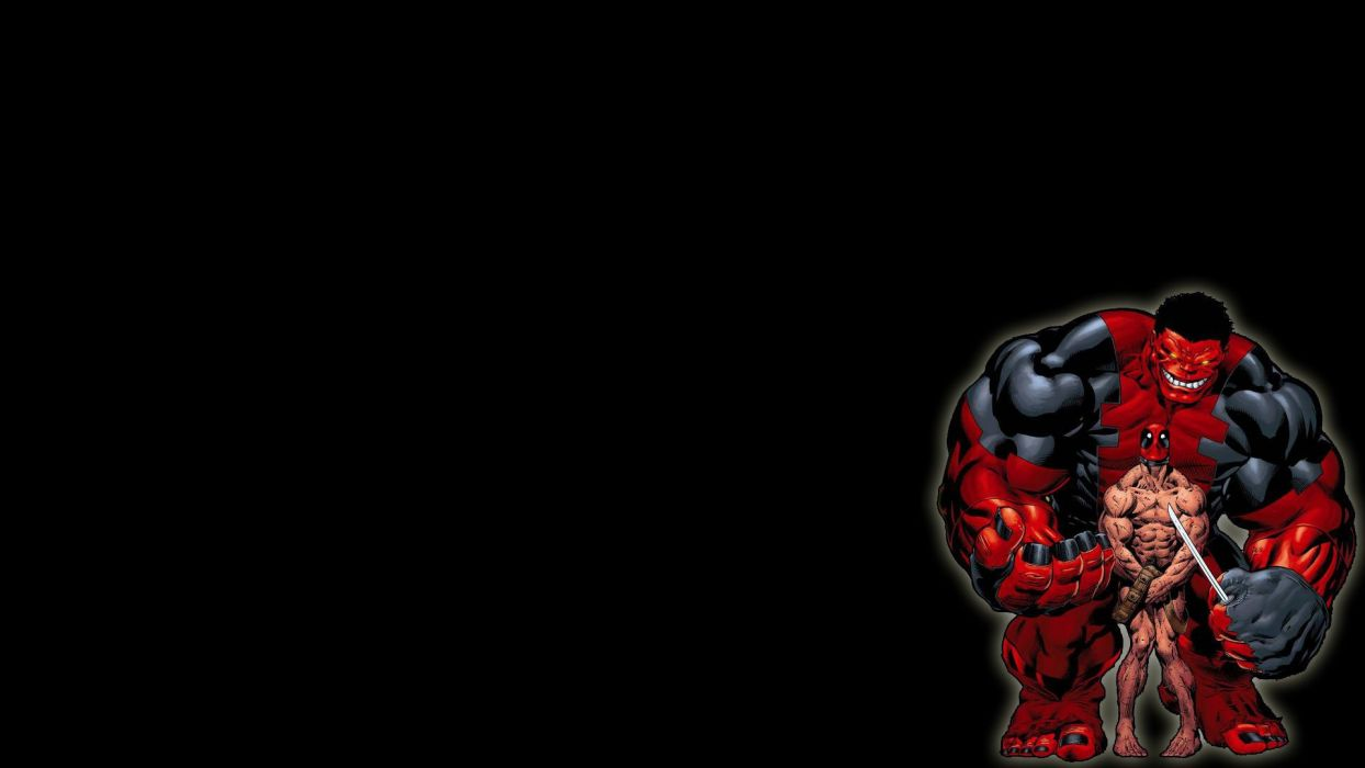 Hulk (comic character) Deadpool Wade Wilson Marvel Comics wallpaper