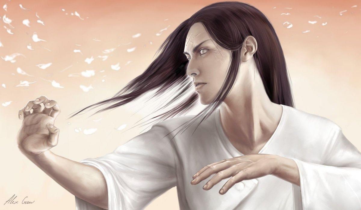 Naruto: Shippuden artwork Hyuuga Neji wallpaper