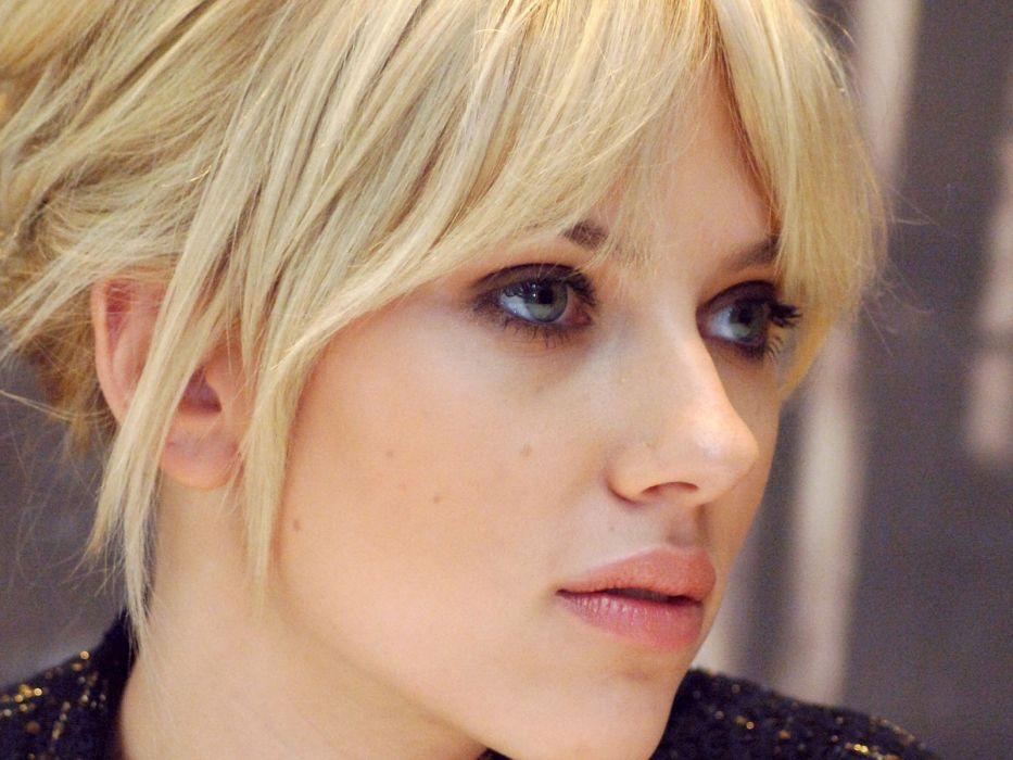 blondes women Scarlett Johansson wallpaper