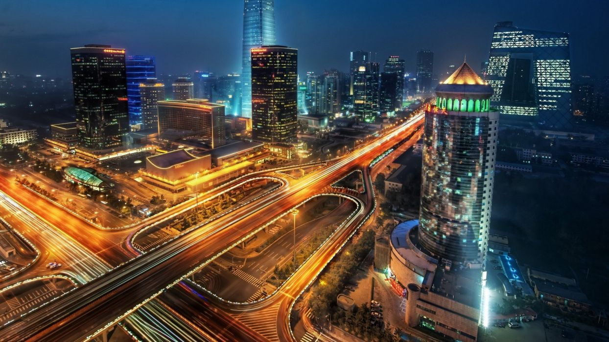 landscapes cityscapes skyscrapers HDR photography wallpaper