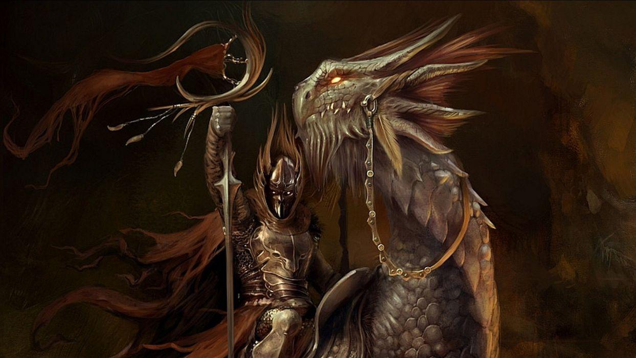 fantasy art creatures wallpaper