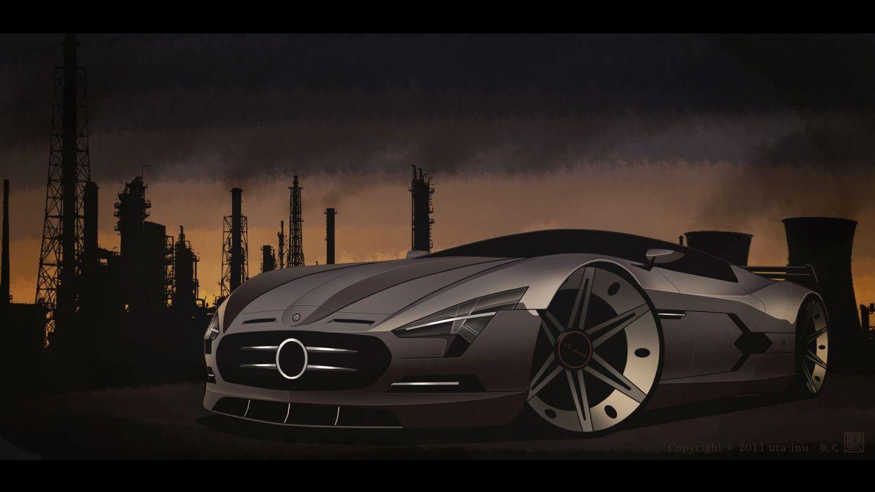 cars design engines digital art vehicles luxury sport cars wallpaper