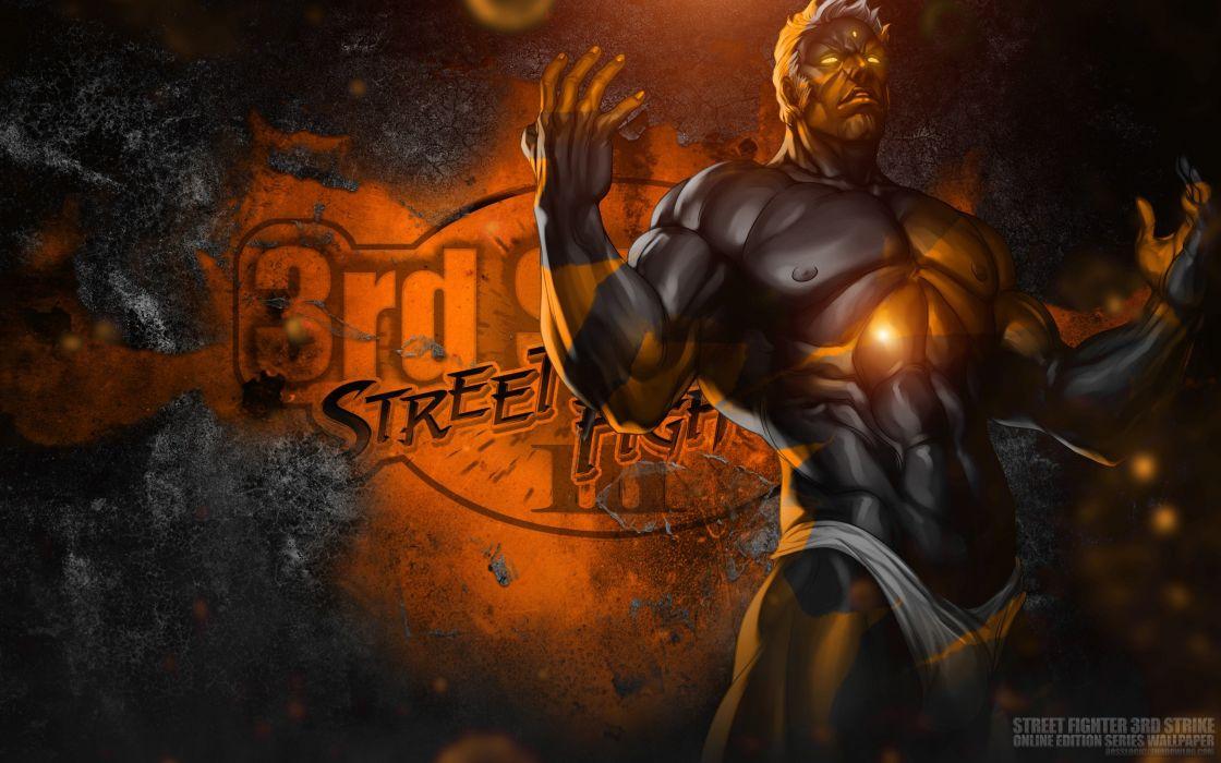 video games Bosslogic Artgerm Street Fighter III: 3rd Strike Online Edition Urien wallpaper
